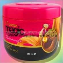 Маска с кератином и аргановым маслом Bio-Woman для поврежденных волос 500 мл