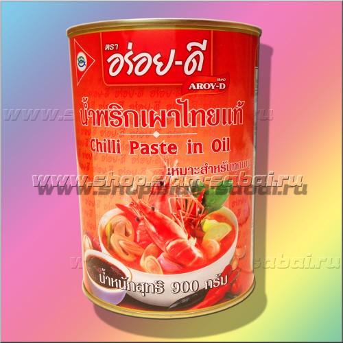 Тайская паста чили для Том Ям и не только. Вес: 1.08   кг