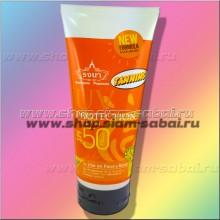 Тайский крем для усиления загара с защитой от солнца SPF50PA++ 200 мл
