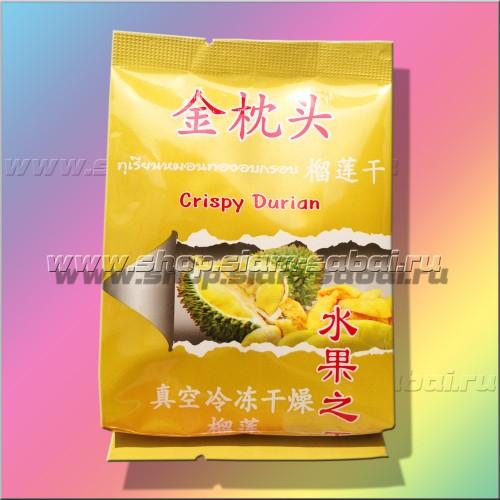 Дуриановые чипсы 25 грамм. Вес: 40.00  г