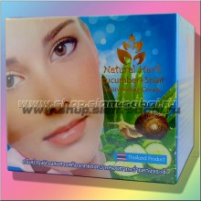 Антивозрастной увлажняющий крем для лица с экстрактом слизи улитки и огурцом