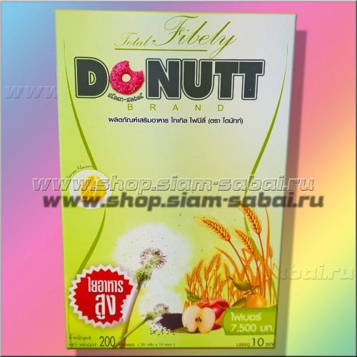 Детокс напиток Donutt растительная клетчатка для снижения веса и очищения организма. Вес: 300.00  г
