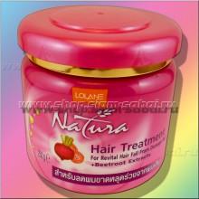 Маска для сухих волос против выпаденияс экстрактом свеклы и пептидным комплексом от тайской фирмы Lolane