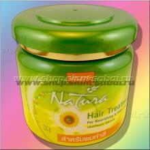 Маска для защиты цвета окрашенных волос Lolane с подсолнечником