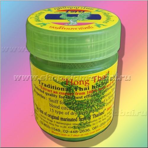 Травяной традиционный тайский ингалятор Hong Thai. Вес: 25.00  г