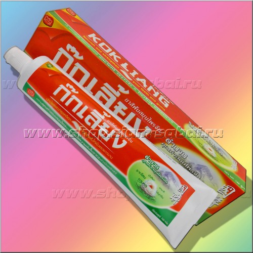 Тайская зубная паста Kokliang. Вес: 200.00  г