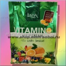 Осветляющая маска для лица и тела с фруктовыми кислотами и витамином С