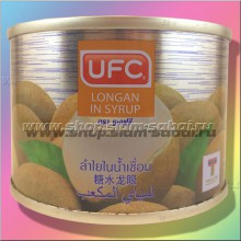 Лонган в сиропе  консервированный. Вес: 250.00  г