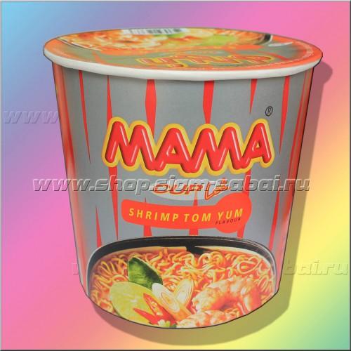 Суп – лапша Том Ям быстрого приготовления. Вес: 80.00  г