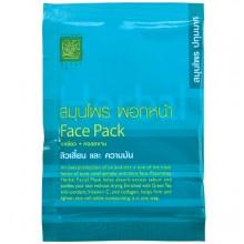 Маска для лица с зеленым чаем и коллагеном Face Pack