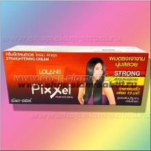 Профессиональный крем для выпрямления кудрявых волос Pixxel Lolane