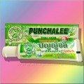Органическая тайская зубная паста Пунчали в тубе