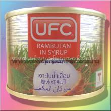 Плоды рамбутана в сиропе  консервированные