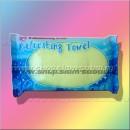 Освежающее влажное полотенце