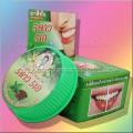Тайская круглая зубная паста «Мята и гвоздика»