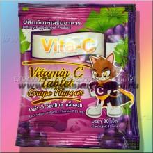 Витамин С: Аскорбинка с Виноградом 30 таблеток