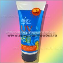 Тайский солнцезащитный крем отбеливающий с защитой от солнца SPF50PA++ 200 мл