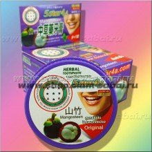 Тайская зубная паста Мангостин 5 STAR 4A