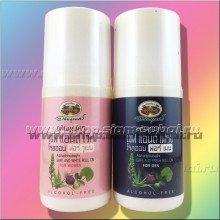Травяной шариковый дезодорант с мужским и женским ароматом