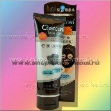 Черная угольная маска для проблемной кожи