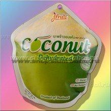 Ломтики мякоти кокоса сушеные