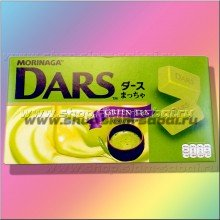 Зеленый шоколад Dars 45 грамм
