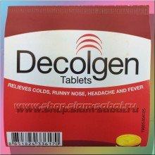 Лекарство  против простуды Decolgen
