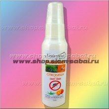 Спрей от комаров с лемонграссом 75 мл