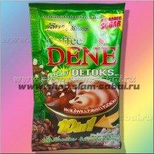 Кофе детокс Dene Detoks для снижения веса (зеленый пакетик)