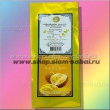 Зеленый ароматизированный чай с королем тайских фруктов Дурианом