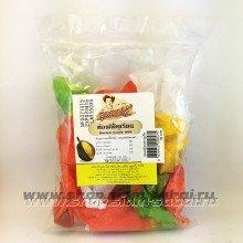 Жевательные кокосово-сливочные ириски из мякоти дуриана