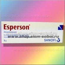 Мазь Esperson против экземы, дерматита и псориаза 5 грамм