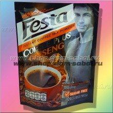 Кофе растворимый с экстрактом женьшеня без сахара Festa 120 грамм