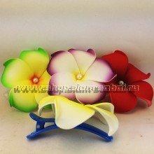 Зажим для волос с цветком Франжипани