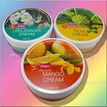 Ананасовый крем, Манго крем, крем с Франжипани, Нони и другие ароматы