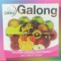 Тайское безсульфатное мыло Galong с фруктами