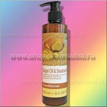 Кондиционер для волос Boots с с имбирным маслом и кунжутом