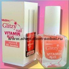 Витамины для ногтей – лечебный лак для ногтей с маслами и витаминами Mistine 9 мл