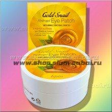 Гидрогелевые патчи для кожи вокруг глаз Золото и Улитка 60 штук