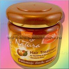 Питательная маска для сухих, истощенных и поврежденных волос от тайской фирмы Lolane
