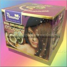 Маска для волос на основе натурального кокосового масла холодного отжима