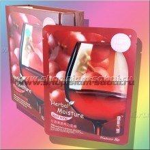 Маска для лица с красным вином, улучшающая цвет лица