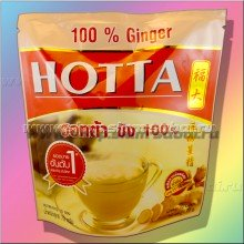 100% имбирный чай Hotta