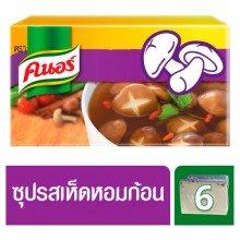 Кубики грибного бульона Шиитаке Knorr 60 гр, 6 кубиков