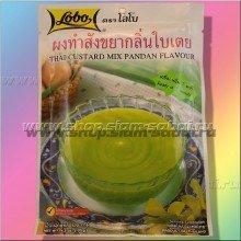 Тайский заварной крем с панданом