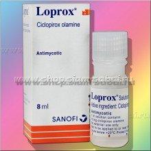 Средство Loprox для быстрого лечения грибка ногтей и кожи
