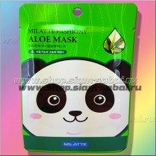 Тканевая корейская маска для лица Алое Вера Milatte