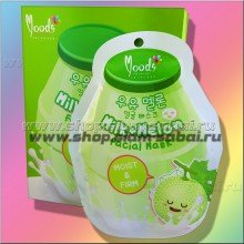 Тканевая маска для лица Молоко и Дыня