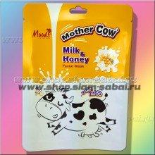 Тканевая маска для лица Молоко и Мед