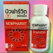 Мультивитамины 100 таблеток комплекс Newpharvit. Вес: 100.00  г
